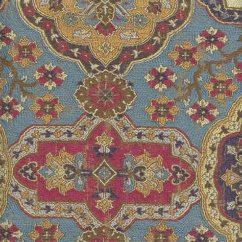 imperial upholstery imperial mineral blue woven floral upholstery fabric
