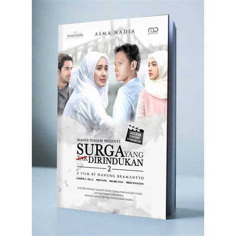 Original Novel Surga Yang Tak Dirindukan Cover Bukukita Surga Yang Tak Dirindukan 2 Toko Buku