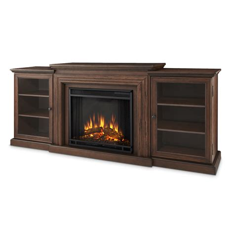 Oak Fireplace Entertainment Center by Real Frederick Entertainment Center Electric