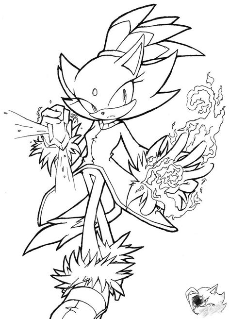 Coloring Pages Blaze The Cat | blaze the cat coloring pages coloring home