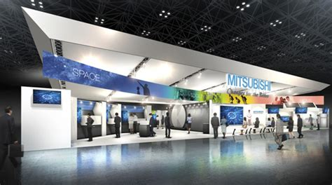 exhibition booth design japan mitsubishi electric news releases mitsubishi electric to
