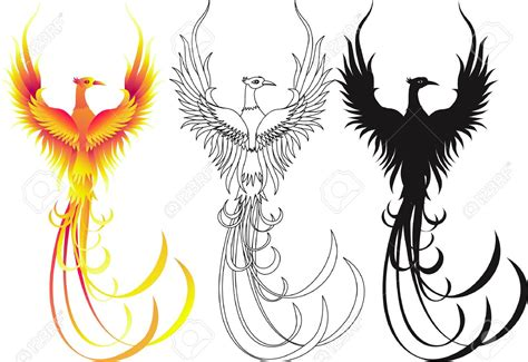 fenix clipart pencil and in color fenix clipart