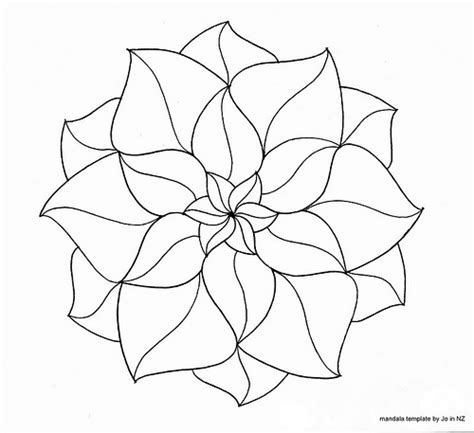 printable zentangle outlines zendala template 3 a couple of comments on my recent