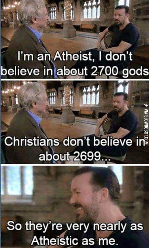 Atheist Vs Christian Meme - atheist and christians are alike