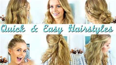 quick easy heatless hairstyles   style medium
