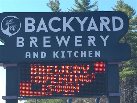 backyard brewery new hshire restaurant reviews backyard brewery and