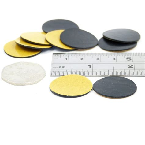 25mm self adhesive rubber pads