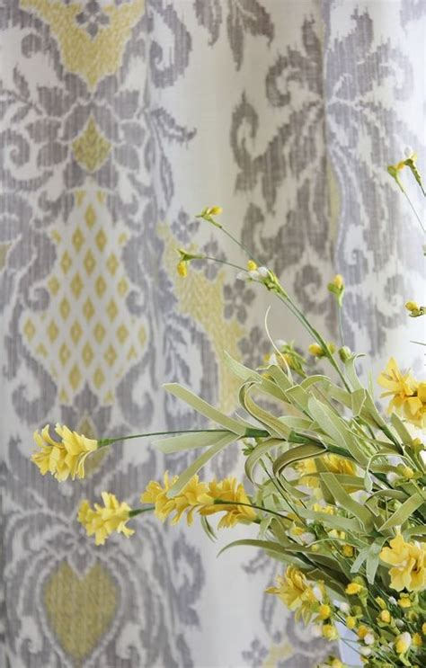 grey and yellow curtain fabric 99 best images about kitchen on pinterest grey tie up