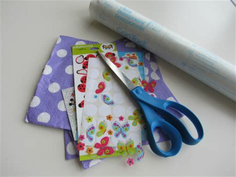 Clear Contact Paper Crafts - clear contact paper crafts