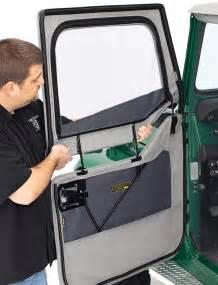 Jeep Jk Soft Doors Bestop 2 Soft Front Doors For Jeep Wrangler