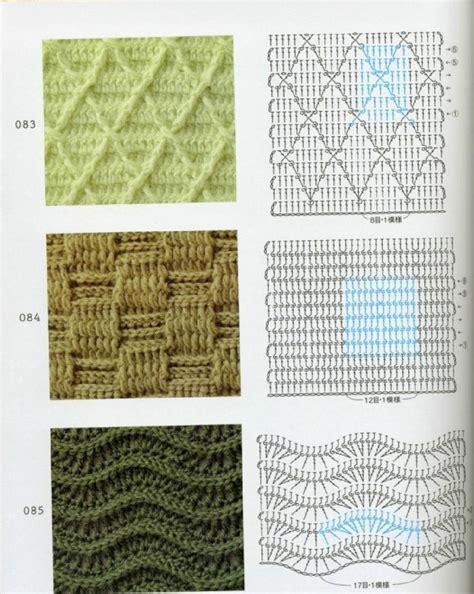 knit stitch diagram 721 best crochet stitches images on crochet