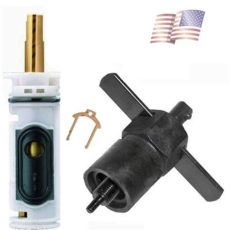 replace kitchen faucet cartridge moen 1224 cartridge valve replacement faucet repair with