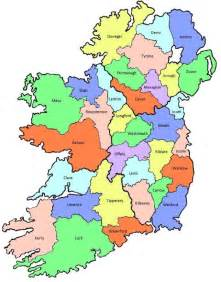 ireland s county names what do they ireland