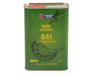 Harga Clear Nippon Nax 221 nax superio 841 clearcoat nippon paint middle east