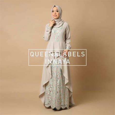 Gamis Pesta Queena jual inayah dress by queenalabels dress pesta muslimah