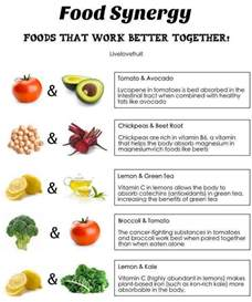 food synergy foods that work better together realfarmacy