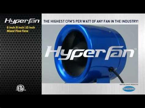 hyper fan 10 inch 8 inch hyper fan by phresh test review smallest i