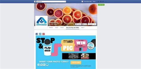 Oreo Sweepstakes - albertsons stop and play with oreo sweepstakes