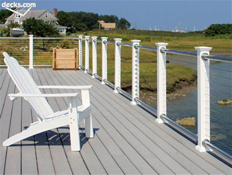 deck railing sections wire deck railing parts 187 design and ideas