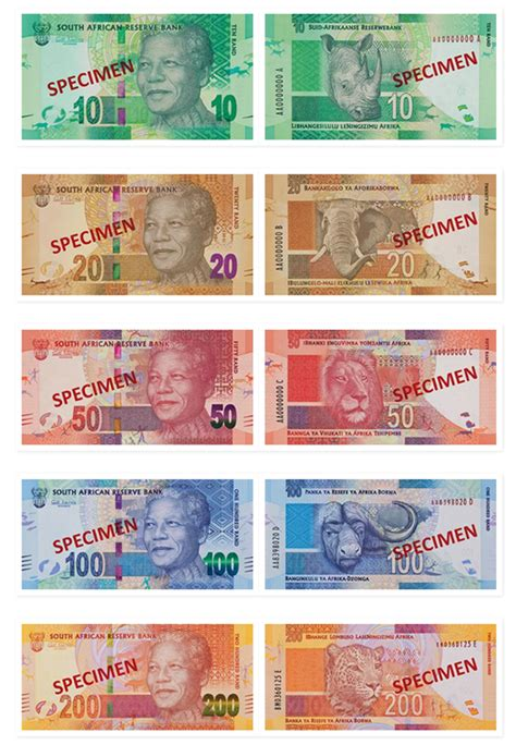 Democratic Design by Introducing The New South African Bank Notes