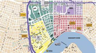car map of new orleans new orleans area maps search engine at search