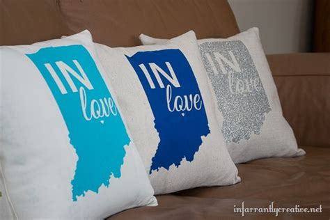Indiana Pillow by State Pride Tour Indiana