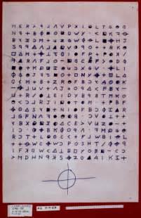 Decent Break Letter decent 2010 paper on the zodiac killer ciphers cipher mysteries
