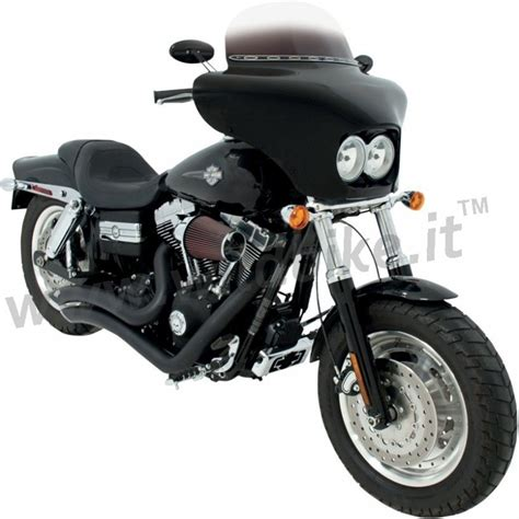 Harley Davidson Windshields by Batwing Fairing Windshield For Harley Davidson Bob Fxdf