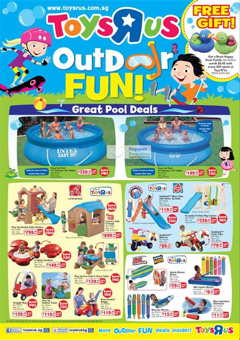 Backyard Pools Toys R Us Pools Intex Easy Set Play Up Climber Country Side