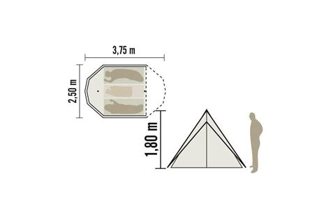 tente montana 4 cabanon latour tentes mat 233 riel de cing