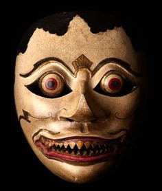 Topeng Mask Clay Who Am I Fiber mahakala mask tibet 19th 20th c wisdom compassion tibet and masking