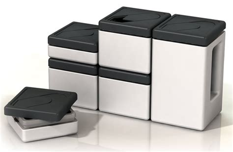 square kitchen canisters designing for small kitchens stacking and nesting storage