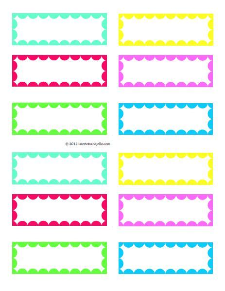 printable labels blank 4 best images of free blank printable labels free