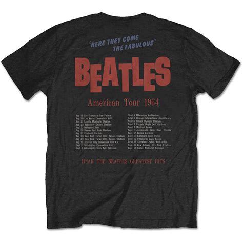 Tshirt The Beatles K 01 t shirt the beatles american tour 1964 fuzz bayonne