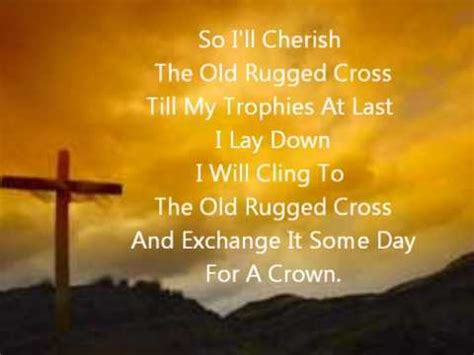 the rugged cross alan jackson lyrics the rugged cross