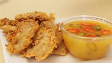 Cara Membuat Jamur Crispy Dapur Umami | dapur umami jamur crispy saus jeruk youtube