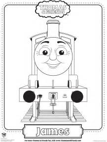 thomas coloring pages james cooloring