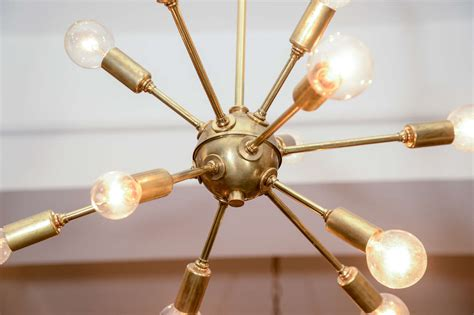 Vintage Sputnik Brass Light Fixture At 1stdibs Brass Light Fixtures