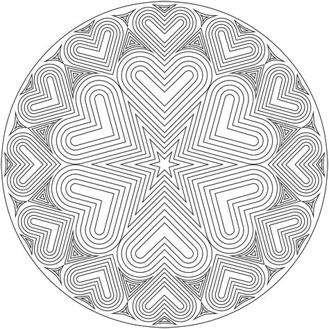 hard coloring pages of hearts coloring pages of hearts for teenagers difficult