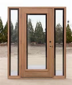 door with sidelights mahogany door with elliptical transom