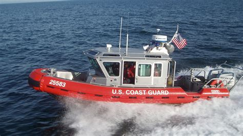 Cost Garde Coast Guard Rescues Two From Grounded Boat Near