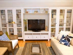 Living Room Shelving Living Room Built In Shelves Hgtv