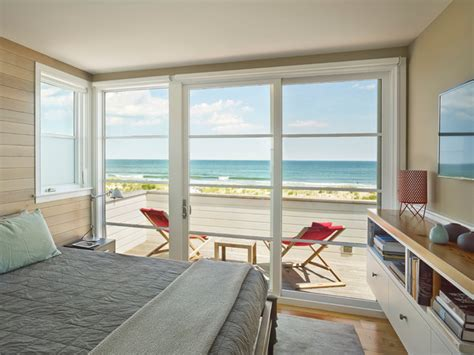 versatile beach bedroom ideas in authentic white interior fresh atmosphere from white wooden glass windows for beach