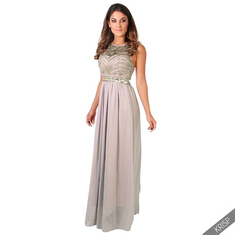 Longdress Pantai 8 formal prom maxi dress evening gown bridesmaid size 8 20 ebay