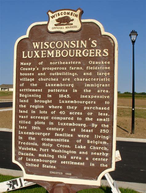 Luxembourg American Culture Belgium Wisconsin Travel | luxembourg american culture belgium wisconsin travel