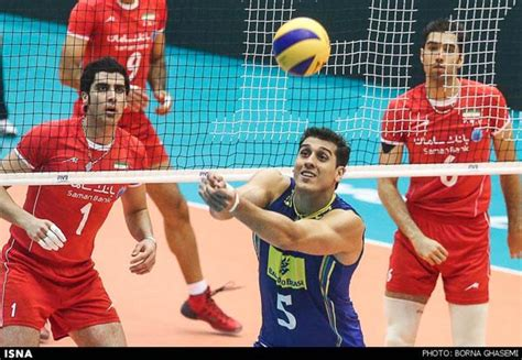 banke varzesh brazil shares point with iran v ballers at world league