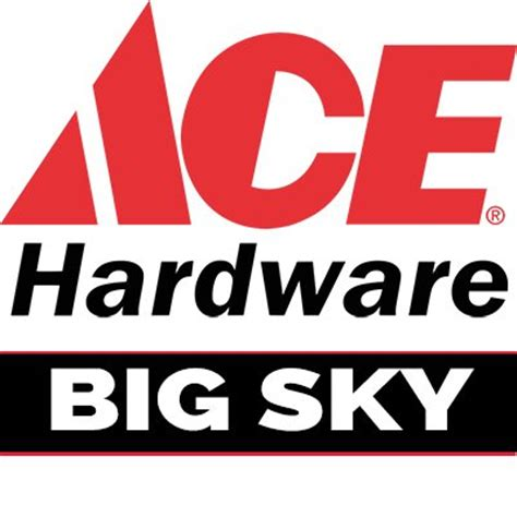Ace Hardware Qbig | ace hardware big sky the local ace hardware of big sky