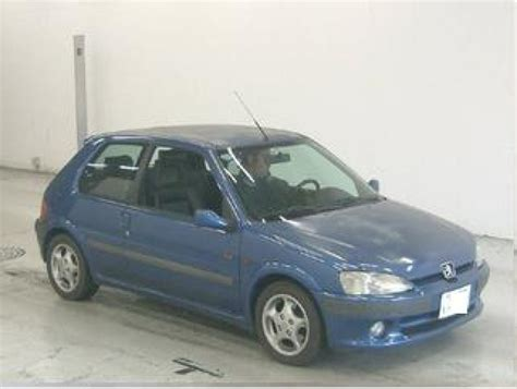 peugeot japan peugeot 106 s16 1997 used for sale