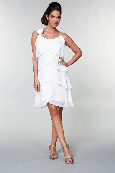 Robe Blanche Ceremonie Femme - robe ceremonie blanche femme robe classique site photo