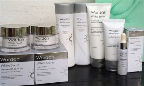 Wardah White Secret wardah white secret series paket skincare harga terjangkau